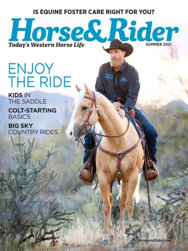 Horse & Rider Magazine May 13th, 2021 Issue Cover