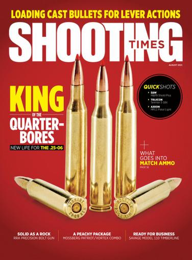 Shooting Times Magazine August 1st, 2021 Issue Cover