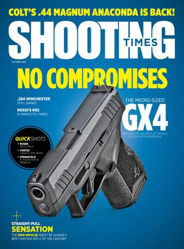 Shooting Times Magazine October 1st, 2021 Issue Cover
