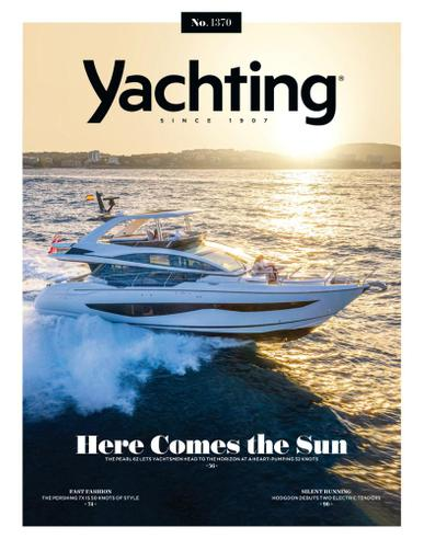 Yachting Magazine April 1st, 2021 Issue Cover