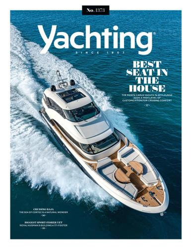 Yachting Magazine July 1st, 2021 Issue Cover