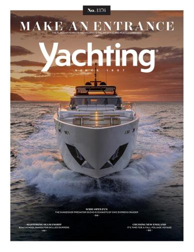 Yachting Magazine October 1st, 2021 Issue Cover