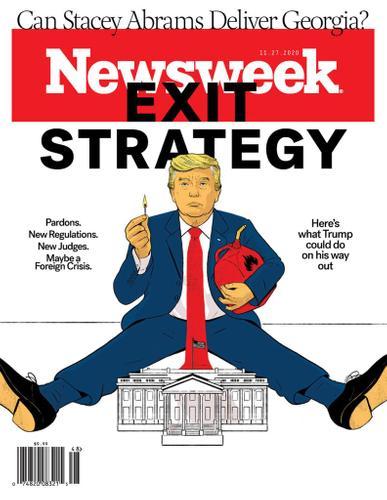 Newsweek Magazine November 27th, 2020 Issue Cover