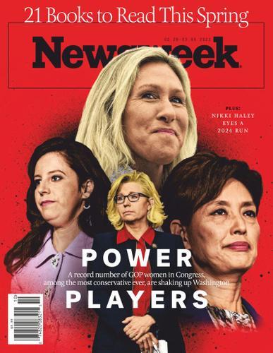 Newsweek Magazine February 26th, 2021 Issue Cover