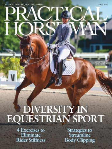 Practical Horseman Magazine September 16th, 2020 Issue Cover