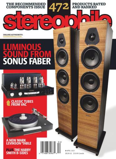 Stereophile Magazine April 1st, 2021 Issue Cover