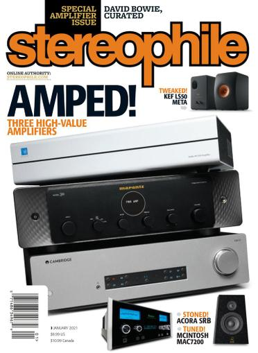 Stereophile Magazine January 1st, 2021 Issue Cover