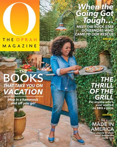 O, The Oprah Magazine July 1st, 2020 Issue Cover