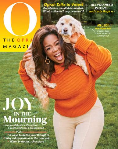 O, The Oprah Magazine October 1st, 2020 Issue Cover