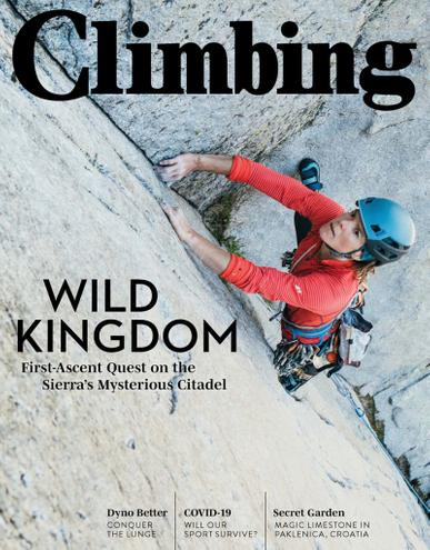 Climbing Magazine July 1st, 2020 Issue Cover