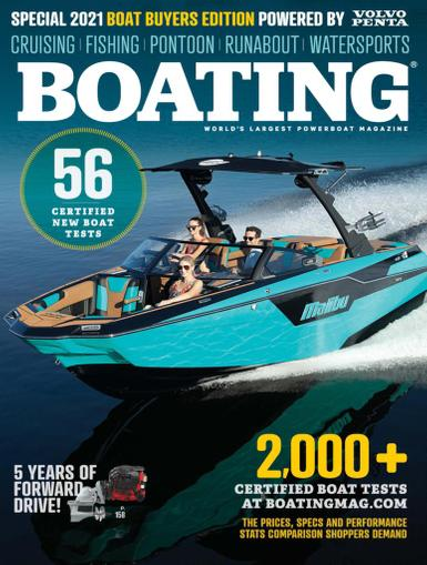 Boating Magazine December 16th, 2020 Issue Cover
