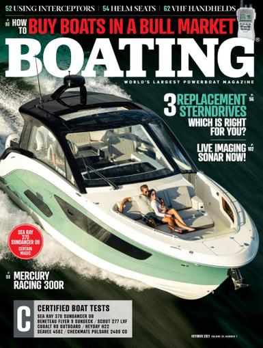 Boating Magazine October 1st, 2021 Issue Cover