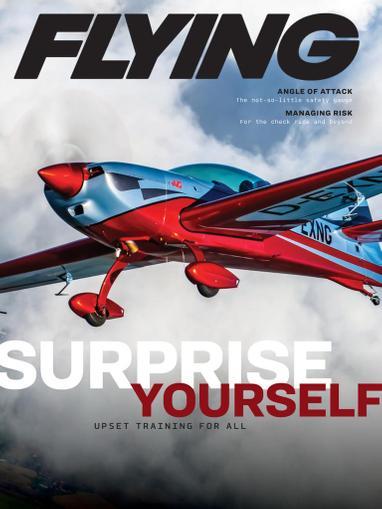 Flying Magazine December 1st, 2020 Issue Cover