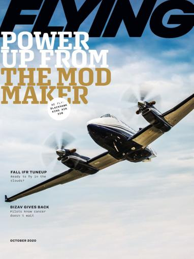 Flying Magazine October 1st, 2020 Issue Cover