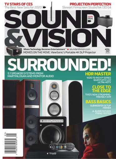 Sound & Vision Magazine April 1st, 2020 Issue Cover