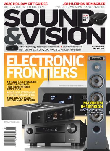 Sound & Vision Magazine December 1st, 2020 Issue Cover