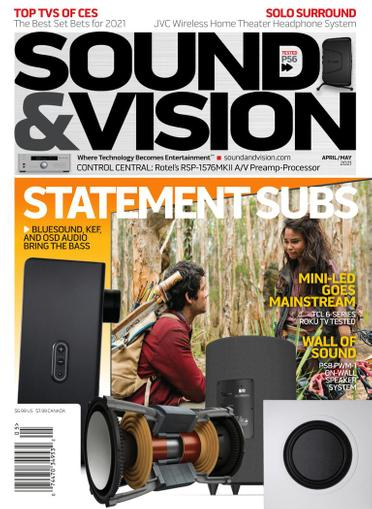 Sound & Vision Magazine April 1st, 2021 Issue Cover