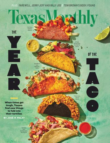 Texas Monthly Magazine December 1st, 2020 Issue Cover