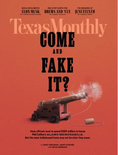 Texas Monthly Magazine June 1st, 2021 Issue Cover