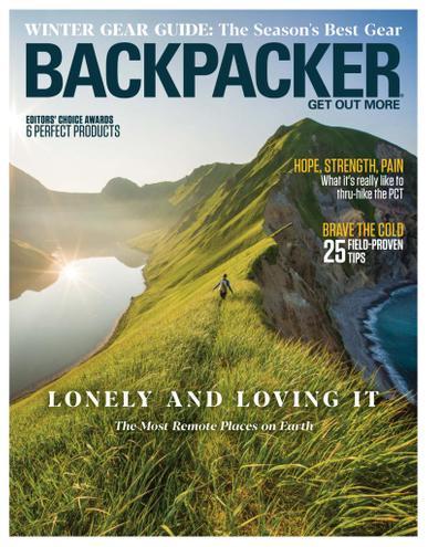 Backpacker Magazine November 1st, 2020 Issue Cover