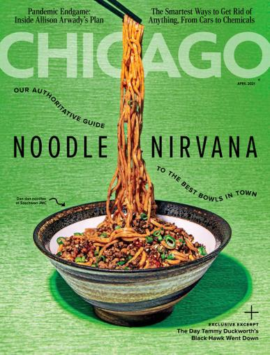 Chicago Magazine April 1st, 2021 Issue Cover