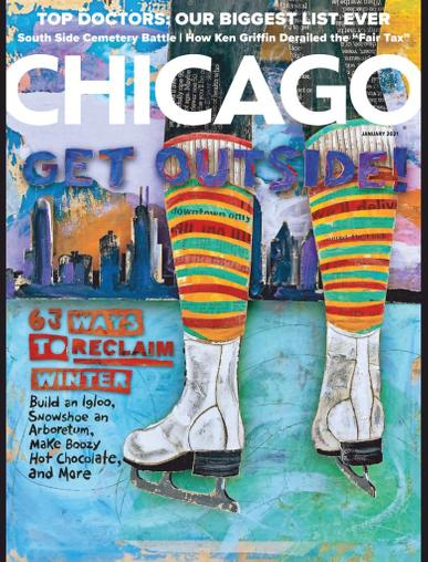 Chicago Magazine January 1st, 2021 Issue Cover