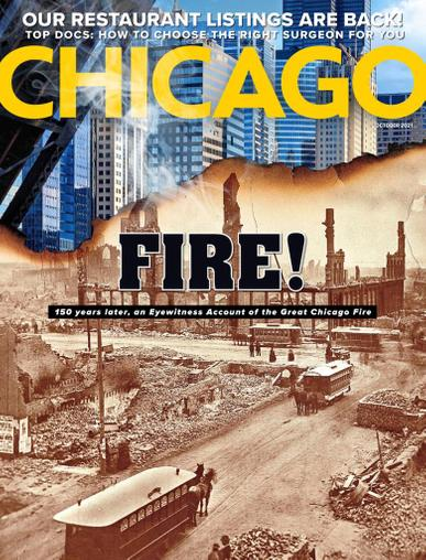 Chicago Magazine October 1st, 2021 Issue Cover