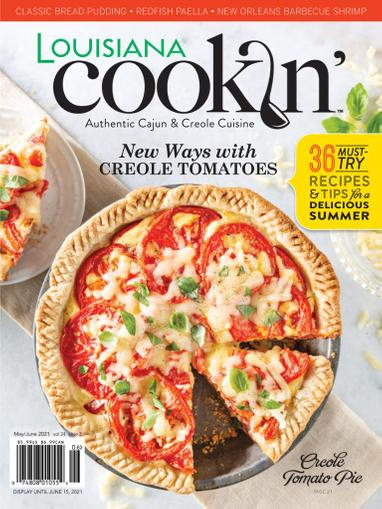 Louisiana Cookin Magazine May 1st, 2021 Issue Cover