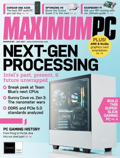 Maximum PC Magazine July 1st, 2021 Issue Cover