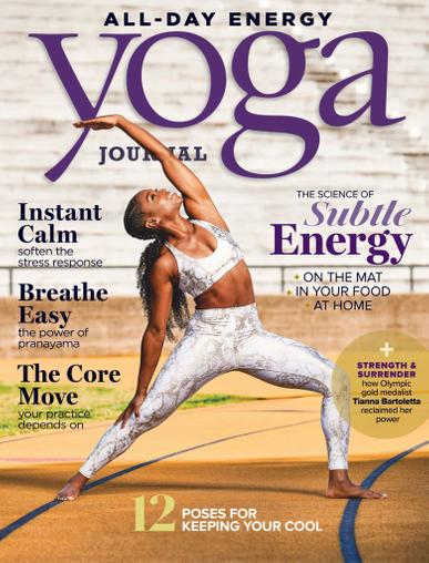 Yoga Journal Magazine July 1st, 2020 Issue Cover