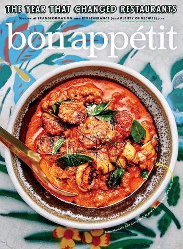 Bon Appetit Magazine October 1st, 2020 Issue Cover