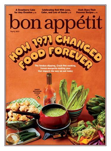 Bon Appetit Magazine April 1st, 2021 Issue Cover
