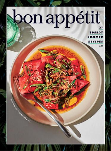 Bon Appetit Magazine June 1st, 2021 Issue Cover