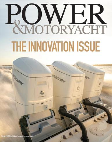 Power & Motoryacht Magazine April 1st, 2021 Issue Cover
