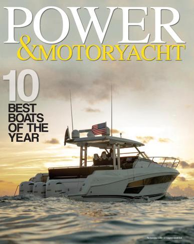 Power & Motoryacht Magazine January 1st, 2021 Issue Cover