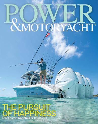 Power & Motoryacht Magazine October 1st, 2021 Issue Cover