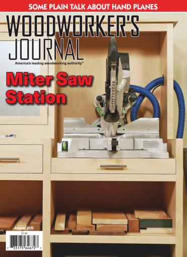 Woodworker's Journal Magazine August 1st, 2020 Issue Cover