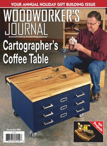 Woodworker's Journal Magazine December 1st, 2020 Issue Cover