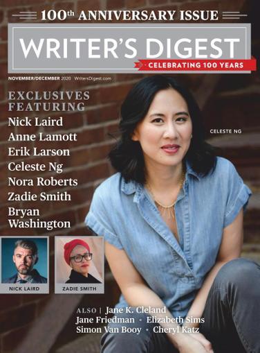Writer's Digest Magazine November 1st, 2020 Issue Cover