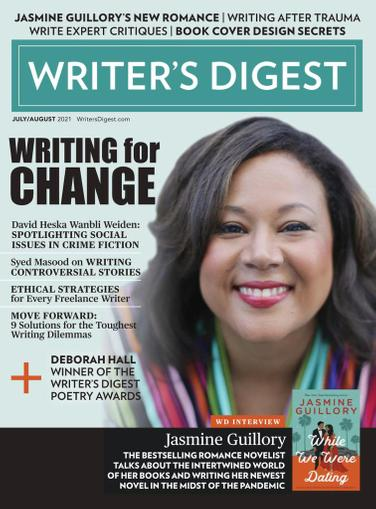 Writer's Digest Magazine July 1st, 2021 Issue Cover