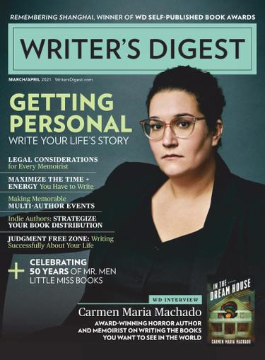 Writer's Digest Magazine March 1st, 2021 Issue Cover