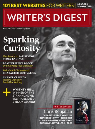 Writer's Digest Magazine May 1st, 2021 Issue Cover