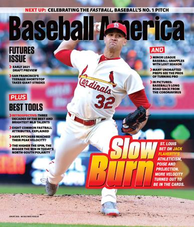 Baseball America Magazine August 1st, 2020 Issue Cover