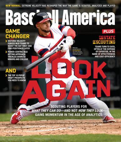 Baseball America Magazine June 1st, 2021 Issue Cover