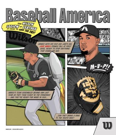 Baseball America Magazine March 1st, 2021 Issue Cover