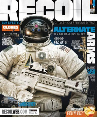 Recoil Magazine July 1st, 2020 Issue Cover