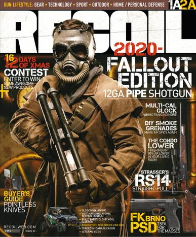 Recoil Magazine January 1st, 2021 Issue Cover