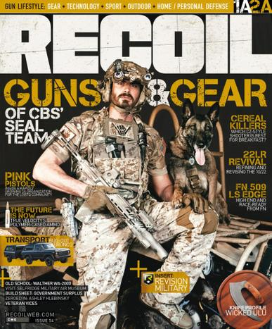 Recoil Magazine May 1st, 2021 Issue Cover