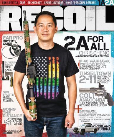 Recoil Magazine September 1st, 2021 Issue Cover