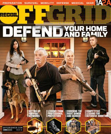 Recoil Offgrid Magazine April 1st, 2021 Issue Cover
